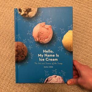 Hello, My Name is Ice Cream Cookbook